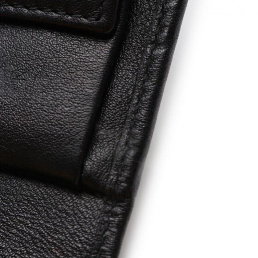 GUCCI・財布・小物・グッチシマ 三つ折り長財布 レザー 黒