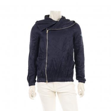 Vivienne Westwood MAN・アウター・ ライダースフーテッドジャケット ネイビー
