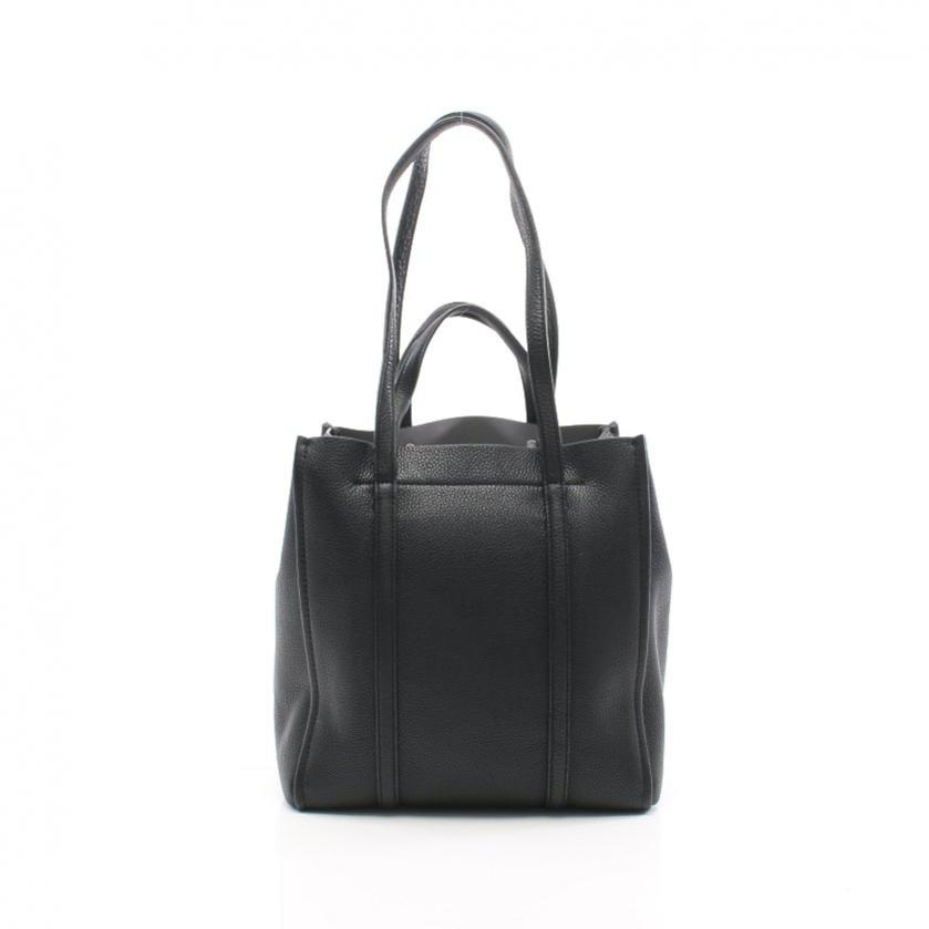 MARC JACOBS・バッグ・The Tag Tote 27 ショルダーバッグ レザー 黒 2WAY