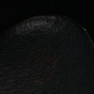 HENRY CUIR・シューズ・ スニーカー ハラコ ベージュ 黒