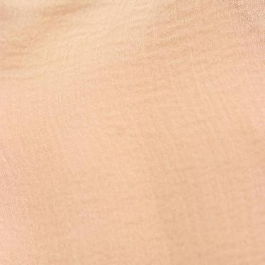 Chloe・トップス・ ブラウス 七分袖 シルク ベージュ フリル