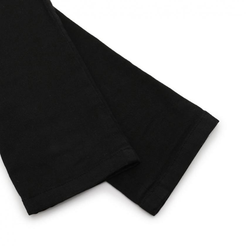 N°21・ボトムス・ スキニーパンツ コットン 黒