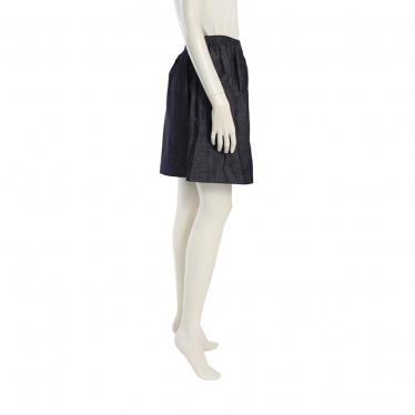 N°21・ボトムス・ プリーツスカート ネイビー