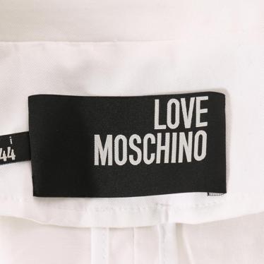 LOVE MOSCHINO・アウター・ジャケット 白 ワッペン