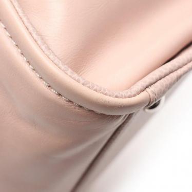 CHANEL・バッグ・ドーヴィル ココマーク チェーントートバッグ レザー ピンク シルバー金具