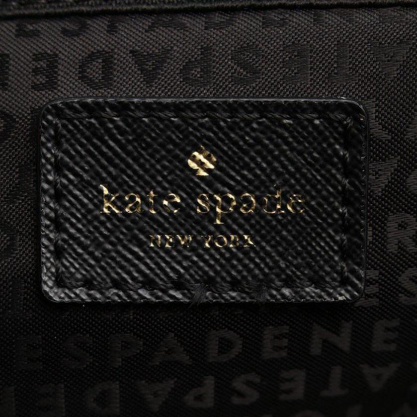 kate spade・バッグ・HILO BLAKE AVENUE リュック バックパック ナイロン レザー 黒
