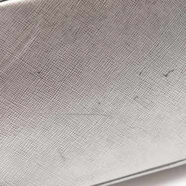 PRADA・バッグ・ ハンドバッグ サフィアーノレザー シルバー 2WAY
