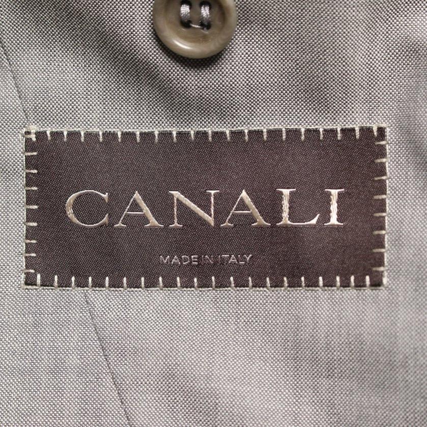 CANALI・アウター・ テーラードジャケット ウール グレー