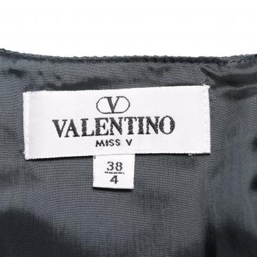 VALENTINO・ワンピース・ ワンピース ウール ネイビー