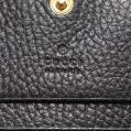 GUCCI・財布・小物・プチマーモント 二つ折り財布 レザー 黒