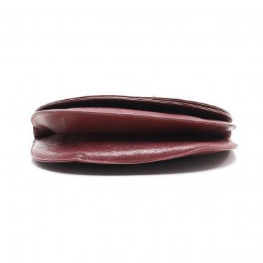 Cartier・バッグ・トリニティ マストライン ショルダーバッグ レザー ボルドー