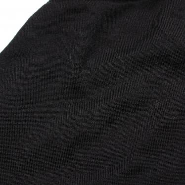 N°21・ワンピース・ クルーネックニットワンピース ウール 黒
