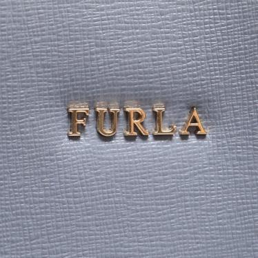 FURLA・バッグ・CONSTANZA ハンドバッグ バケットバッグ レザー 水色 2WAY
