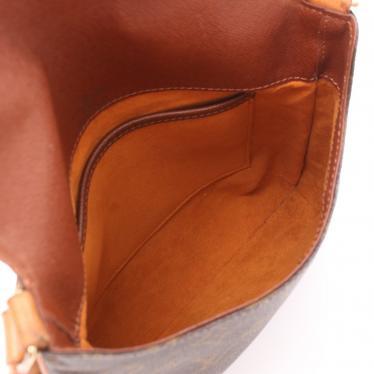 LOUIS VUITTON・バッグ・ミュゼットサルサ ショートストラップ モノグラム ショルダーバッグ PVC レザー 茶