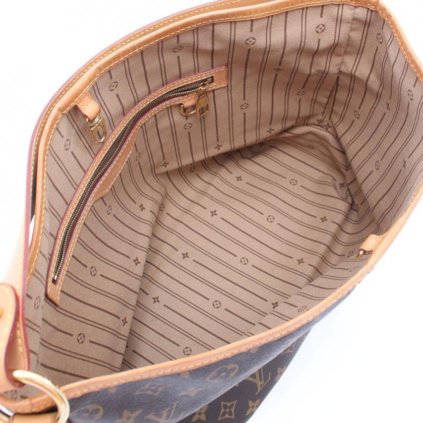 LOUIS VUITTON・バッグ・ディライトフルPM モノグラム ワンショルダーバッグ PVC レザー 茶色