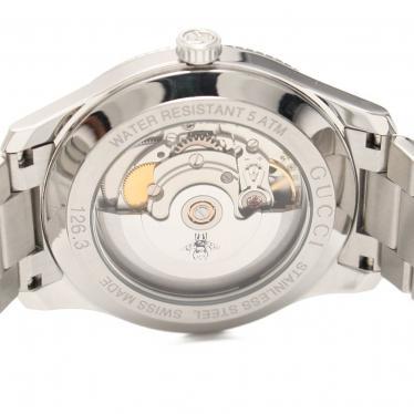 GUCCI・時計・エリクス 腕時計 メンズ 自動巻き SS シルバー シルバー文字盤