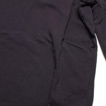 JIL SANDER・トップス・Tシャツ カットソー 五分袖 ラウンドネック ダークネイビー ストレッチ