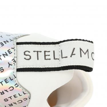 Stella McCartney・シューズ・エクリプス プラットフォーム ダッドスニーカー シルバー 白