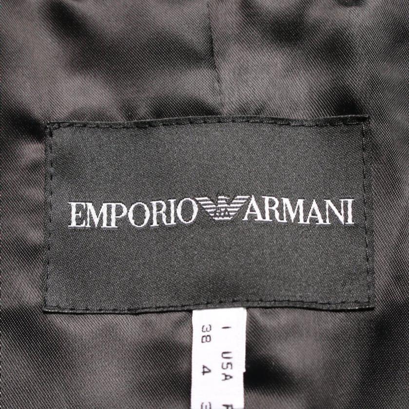 EMPORIO ARMANI・アウター・ジャケット レース ネイビー 黒 コーデュロイ