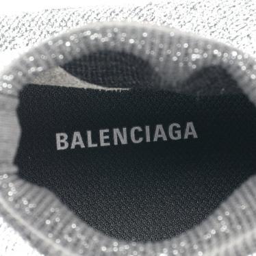 BALENCIAGA・シューズ・SPEED TRAINER スピードトレーナー スニーカー シルバー 白 ラメ