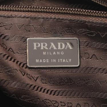 PRADA・バッグ・ トートバッグ レザー 黒 茶色 グラデーション