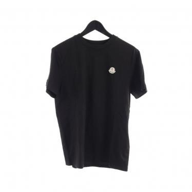 MONCLER・トップス・MONCLER GENIUS 2 1952 AWAKE NY MAGLIA Tシャツ カットソー 黒
