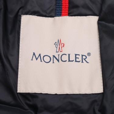 MONCLER・アウター・NEW NADRA ダウンコート ナイロン ネイビー フード付き キッズ 18AW