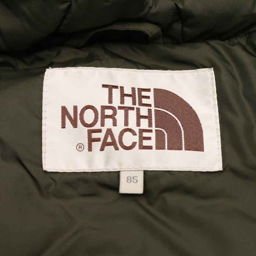 THE NORTH FACE・アウター・WHITE LABEL Meridian Down Jacket ダウンジャケット カーキグリーン ファー付き 韓国限定