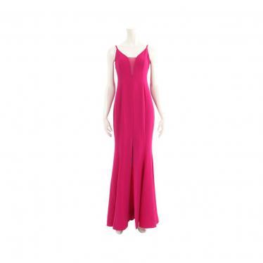 BCBG MAXAZRIA・ワンピース・Mermaid Gown マーメイド ガウン ワンピース 紫