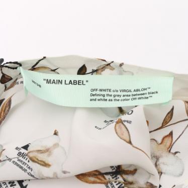 OFF-WHITE・ボトムス・Color Block Skirt スカート 黒 白 黄 19SS