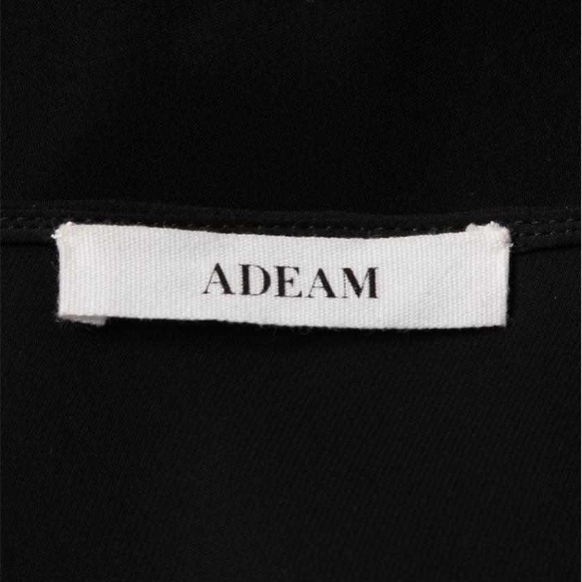 ADEAM・トップス・ ブラウス レース ナイロン 黒