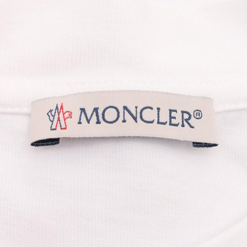 MONCLER・トップス・Tシャツ カットソー 白 黒 20SS