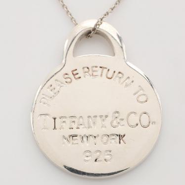 TIFFANY & Co.・アクセサリー・リターントゥティファニー ネックレス SV925 シルバー