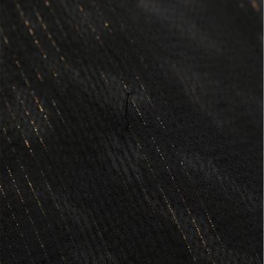 BCBG MAXAZRIA・ワンピース・ ワンピース ノースリーブ シルク 黒 グレー ビジュー
