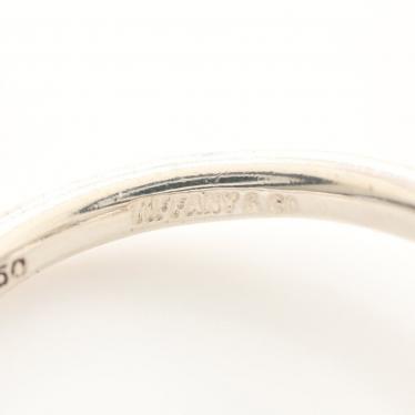 TIFFANY & Co.・アクセサリー・ラブノットリング 指輪 SV925 K18YG シルバー イエローゴールド