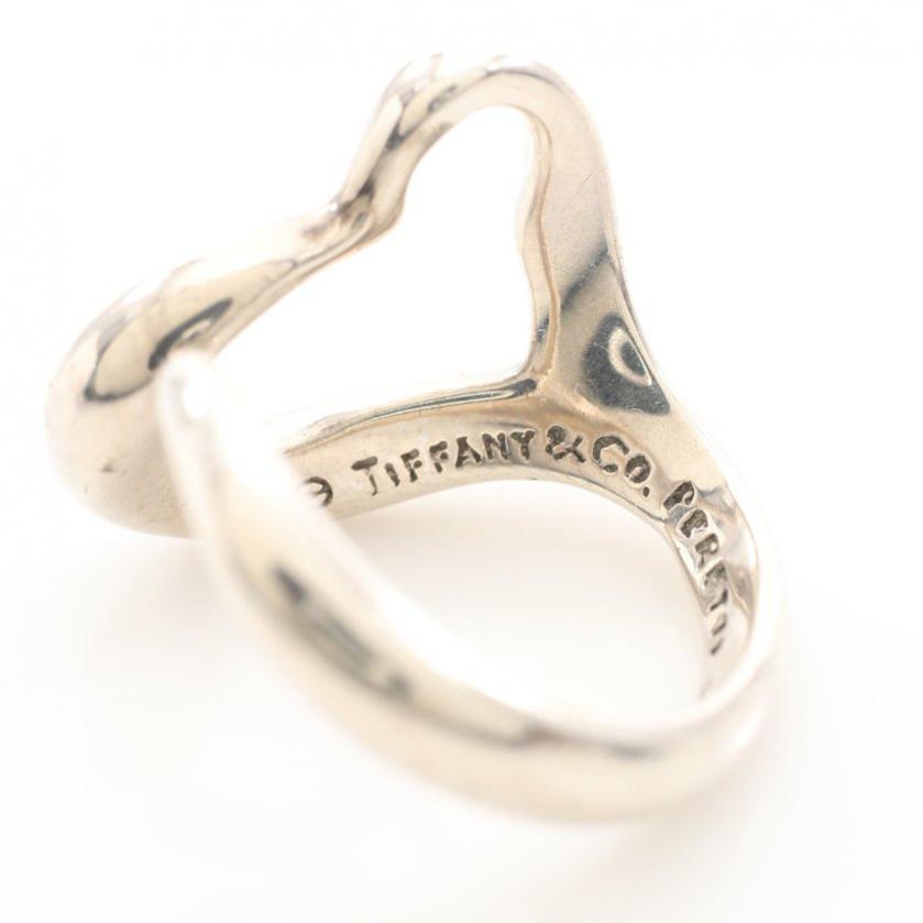 TIFFANY & Co.・アクセサリー・オープンハート リング 指輪 SV925 シルバー エルサペレッティ