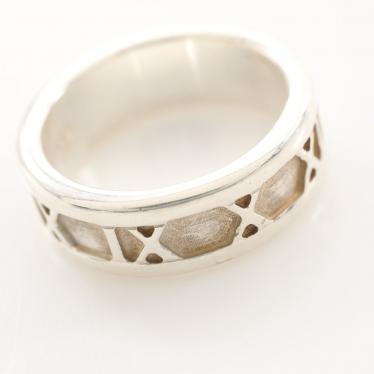 TIFFANY & Co.・アクセサリー・アトラス ナロー リング 指輪 SV925 シルバー