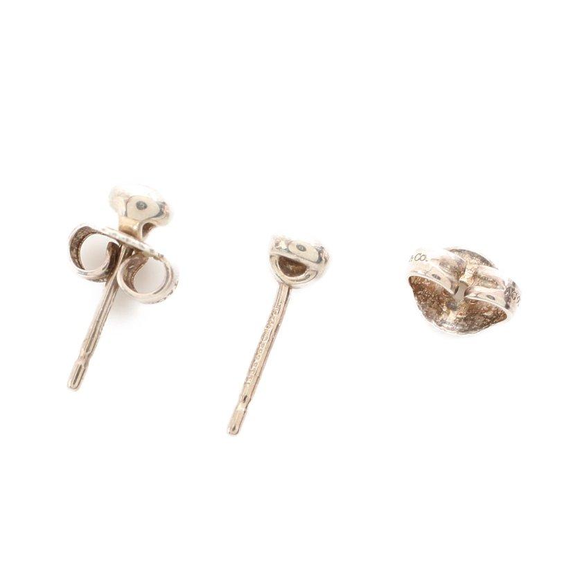 TIFFANY & Co.・アクセサリー・バイザヤード エルサペレッティ ピアス SV925 ダイヤモンド シルバー