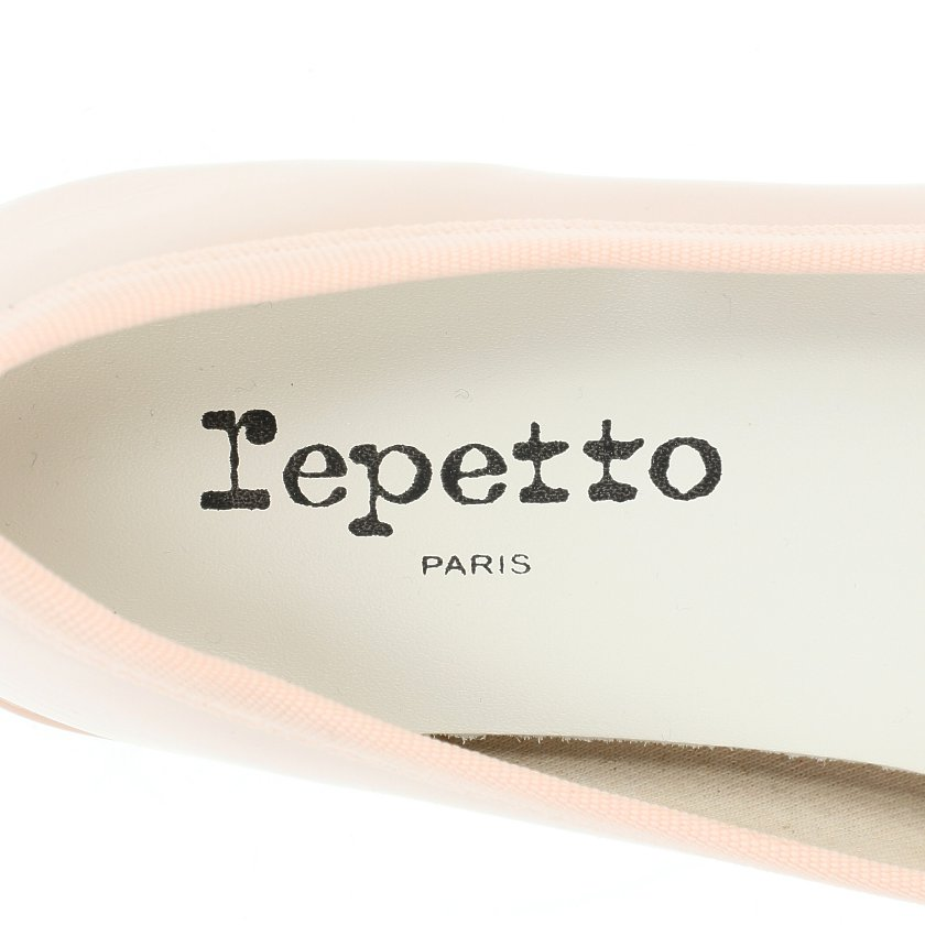Repetto・シューズ・BALLERINA CAMILLE パンプス エナメルレザー ライトピンク