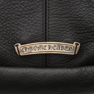 Chrome Hearts・バッグ・SNAT PACK スナットパック ボディバッグ レザー 黒 ダガージップ ガンスリンガーベルト