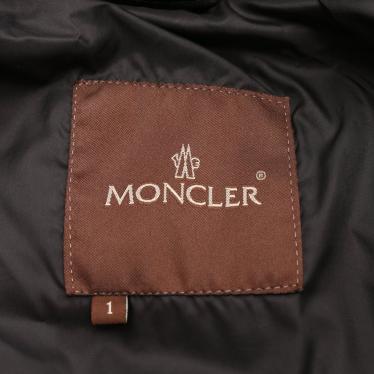 MONCLER・アウター・ ダウンジャケット 黒 茶タグ