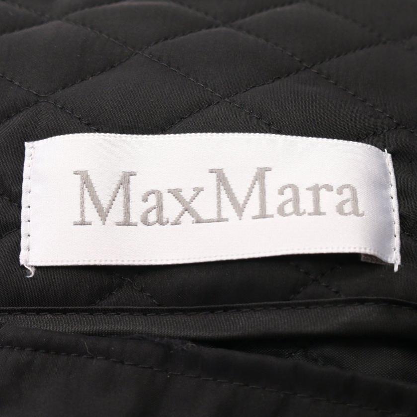 Max Mara・アウター・ ベストジャケット 黒 キルティング
