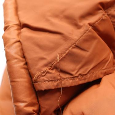 DIESEL・アウター・ジップアップジャケット ブルゾン ナイロン オレンジ キルティング
