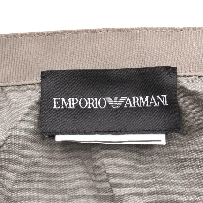 EMPORIO ARMANI・ボトムス・ フレアスカート グレー ギャザー