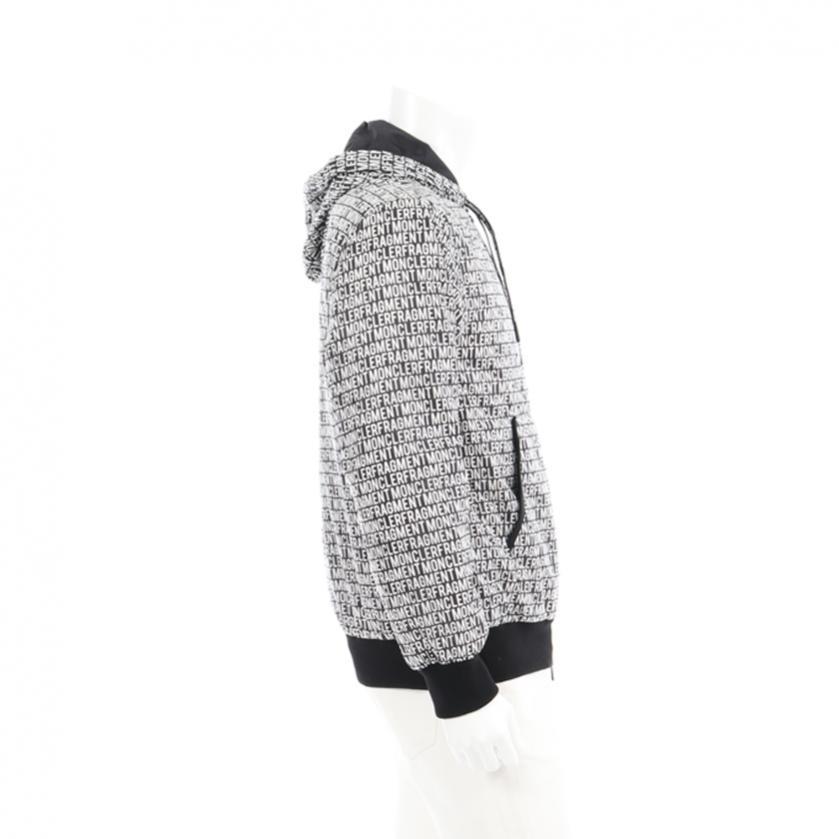 MONCLER・アウター・MONCLER GENIUS 7 × FRAGMENT HIROSHI FUJIWARA RAP ダウンジャケット 黒 白 19SS
