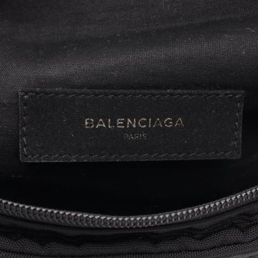 BALENCIAGA・バッグ・エクスプローラー ベルトパック ウエストポーチ ボディバッグ ナイロン 黒