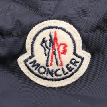 MONCLER・アウター・SERRE ダウンジャケット ナイロン ネイビー フリル