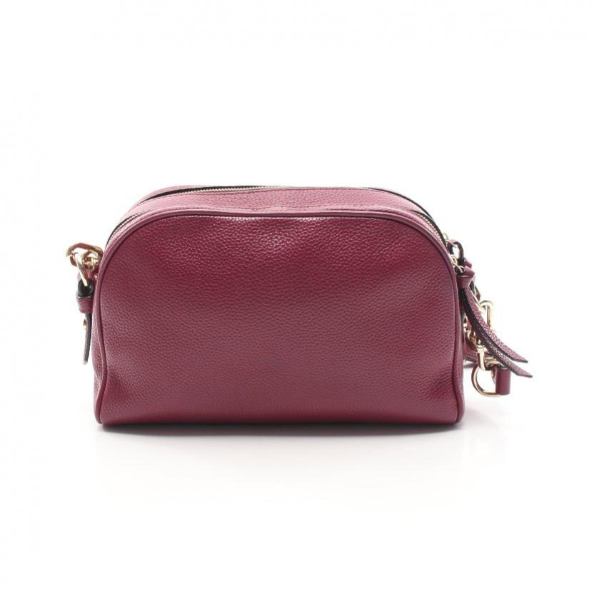 kate spade・バッグ・Mulberry Street Darian チェーンショルダーバッグ レザー 赤紫