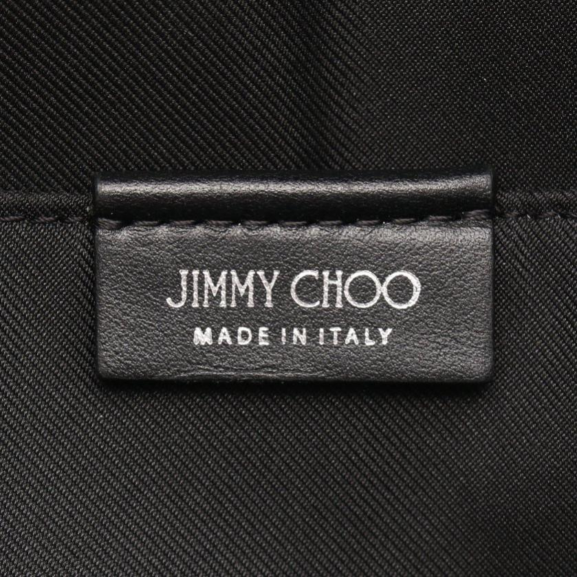 JIMMY CHOO・バッグ・WILMER リュックサック バックパック ナイロン レザー 黒