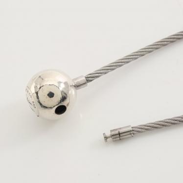 TIFFANY & Co.・アクセサリー・ボール パロマピカソ ワイヤーブレスレット SV925 シルバー